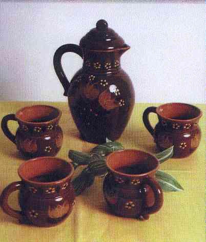 Керамическая посуда керамический