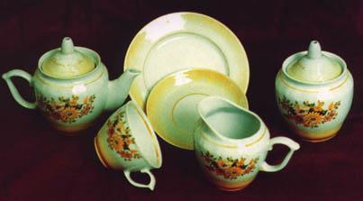 Фарфор чайный сервиз кофейный сервиз